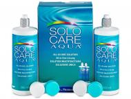 Paketi s otopinama za kontaktne leće - Otopina SoloCare Aqua 2x360ml