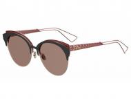 Okrugli sunčane naočale - Dior DIORAMA CLUB EYM/AP