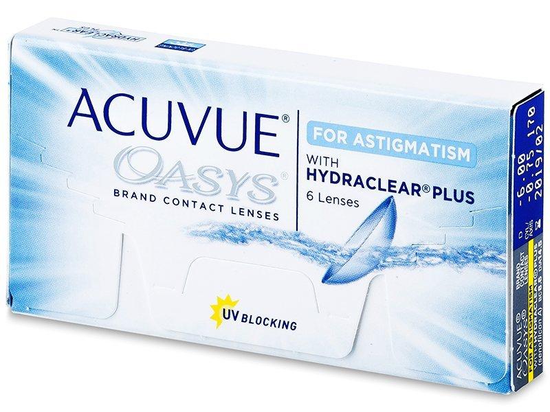 Torične kontaktne leće - Acuvue Oasys for Astigmatism (6komleća)