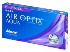 Air Optix Aqua Multifocal (3 kom leća) - Multifokalne kontaktne leće