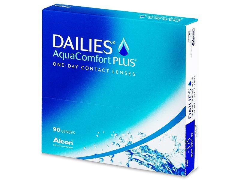 Jednodnevne kontaktne leće - Dailies AquaComfort Plus (90komleća)