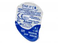 Dailies AquaComfort Plus (30komleća) - Pregled blister pakiranja