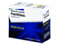 Bifokalne i multifokalne leće - PureVision Multi-Focal (6komleća)