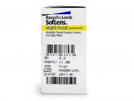 SofLens Multi-Focal (6komleća) - Pregled parametara leća