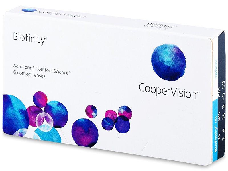 Biofinity (6komleća) - Mjesečne kontaktne leće