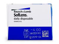 SofLens Daily Disposable (30komleća) - Pregled parametara leća