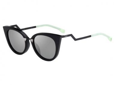 Cat Eye sunčane naočale - Fendi FF 0118/S AQM/UE
