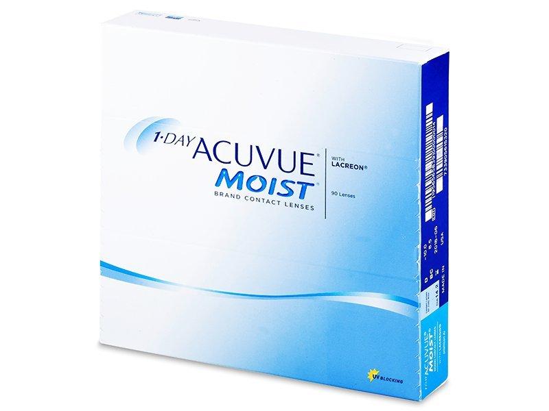 Jednodnevne kontaktne leće - 1 Day Acuvue Moist (90komleća)