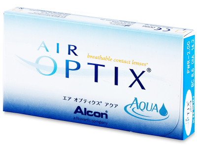 Air Optix Aqua (6 kom leća) - Stariji dizajn