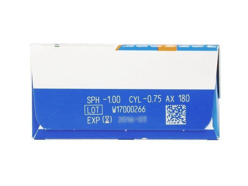 SofLens Daily Disposable Toric (30komleća) - Pregled parametara leća
