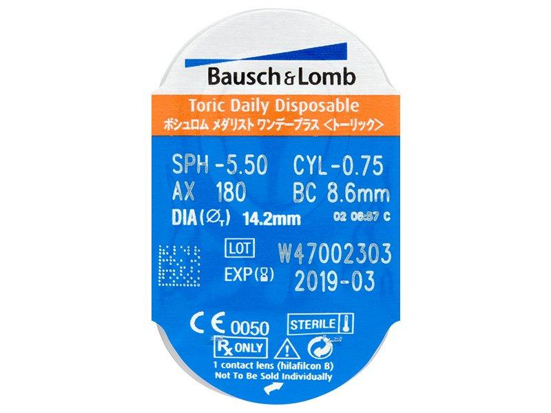 Pregled blister pakiranja  - SofLens Daily Disposable Toric (30komleća)
