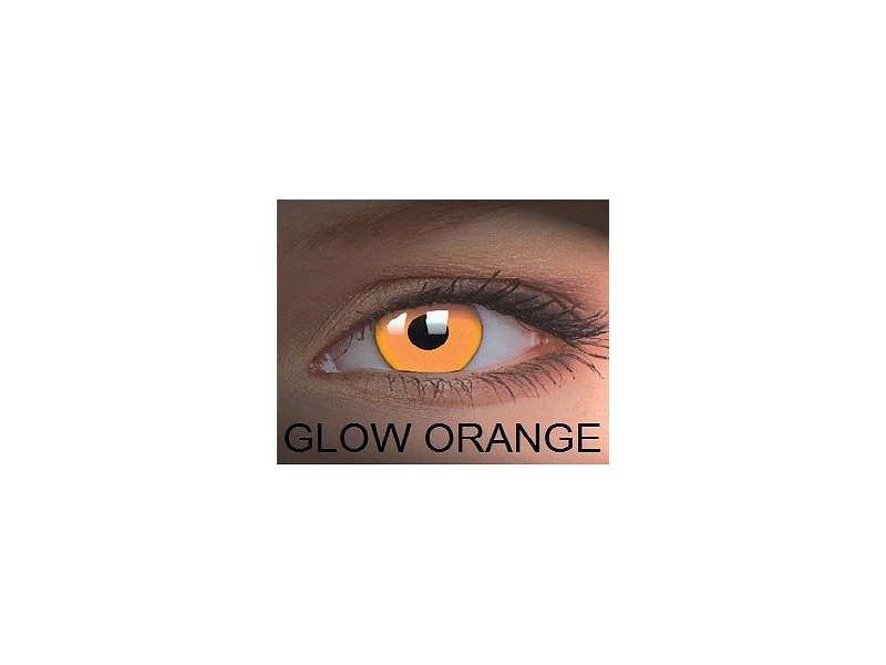 Crazy GLOW (2 kom leća) - Glow Orange