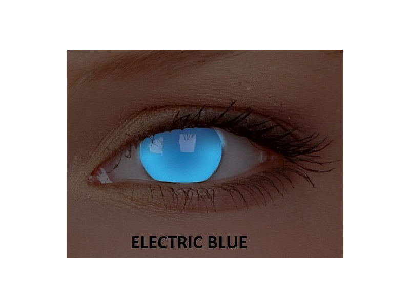 Crazy GLOW (2 kom leća) - Electric Blue