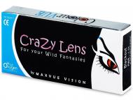 Leće u boji - Crazy ColourVUE - 3-mjesečne dioptrijske (2komleća)