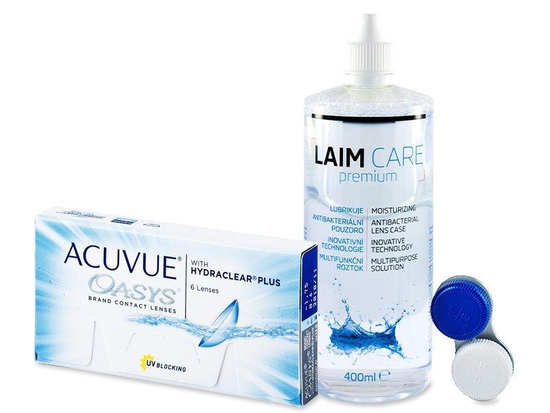 Acuvue Oasys (6komleća) + Laim-Care 400 ml - Ponuda paketa