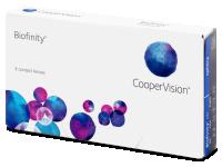 Biofinity (3komleća) -  Monthly contact lenses