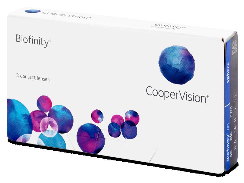 Monthly contact lenses - Biofinity (3komleća)