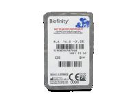 Biofinity (3komleća) - Pregled blister pakiranja