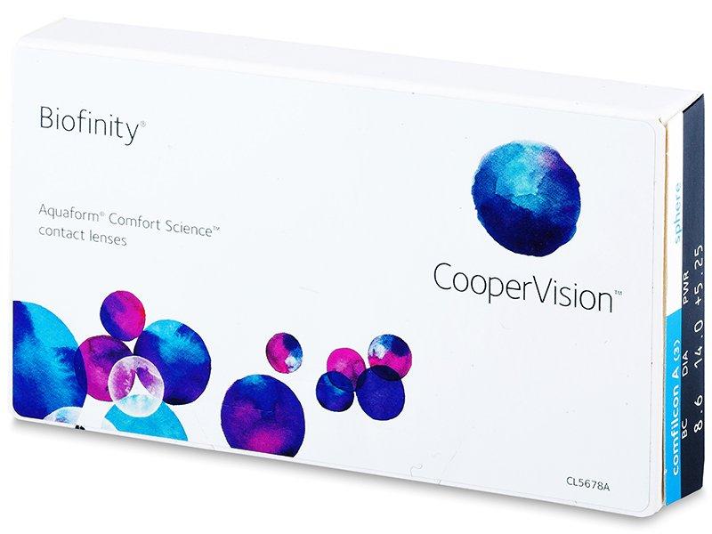 Mjesečne kontaktne leće - Biofinity (3komleća)