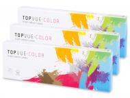 Leće u boji - TopVue Daily Color - bez dioptrije (30 kom leća)