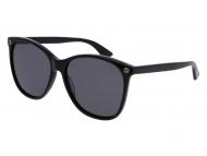 Oval / Elipse sunčane naočale - Gucci GG0024S-001