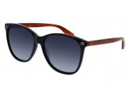 Oval / Elipse sunčane naočale - Gucci GG0024S-003