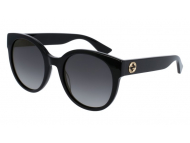 Oval / Elipse sunčane naočale - Gucci GG0035S-001