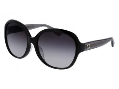 Oval / Elipse sunčane naočale - Gucci GG0080SK-002