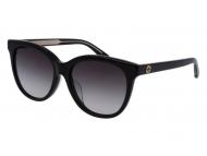 Oval / Elipse sunčane naočale - Gucci GG0081SK-001
