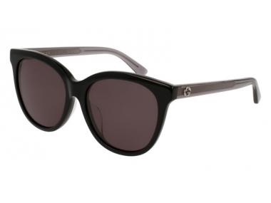 Oval / Elipse sunčane naočale - Gucci GG0081SK-002