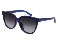 Oval / Elipse sunčane naočale - Gucci GG0081SK-005