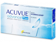 Kontaktne leće Johnson and Johnson - Acuvue Advance Plus (6 kom leća)