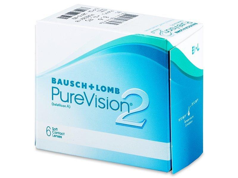 Mjesečne kontaktne leće - PureVision 2 (6komleća)