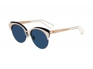 Okrugli sunčane naočale - Dior DIORAMA CLUB 2BN/A9