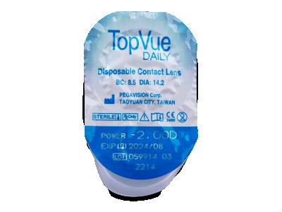 TopVue Daily (30komleća) - Pregled blister pakiranja