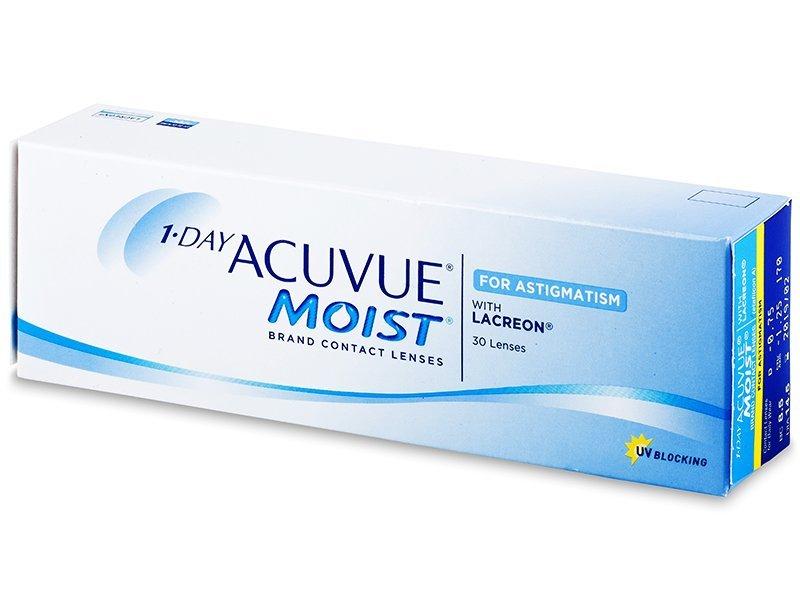 Torične kontaktne leće - 1 Day Acuvue Moist for Astigmatism (30komleća)