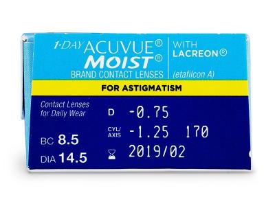 1 Day Acuvue Moist for Astigmatism (30komleća)
