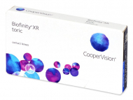 Mjesečne kontaktne leće - Biofinity XR Toric (3 kom leća)