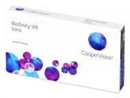 Kontaktne leće Coopervision - Biofinity XR Toric (3 kom leća)