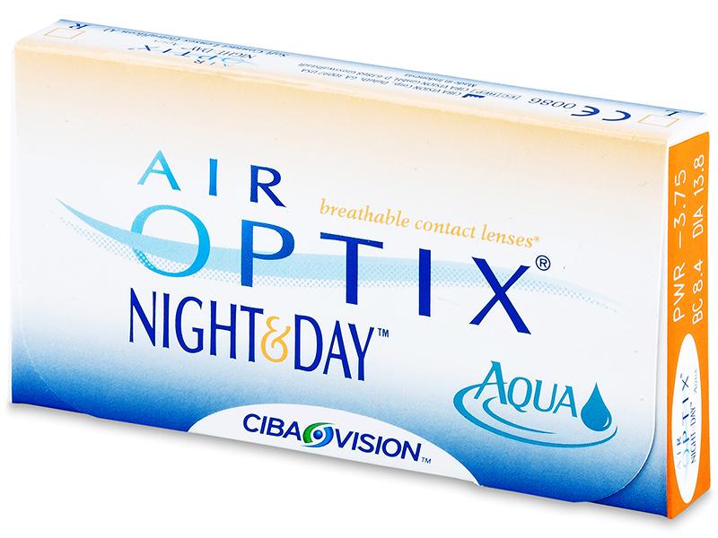 Air Optix Night and Day Aqua (3komleća) - Stariji dizajn
